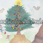 Whimsical Christmas Card