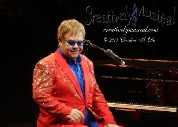 Sir Elton John - Bridgestone Arena - Nashville, TN - April 5, 2013 Photo © Christine A Ellis